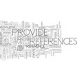 excellent references can be the clincher text vector image vector image