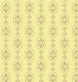 Hand drawn seamless oriental background pattern vector image