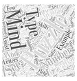 Mind Puzzles Substituting Word Cloud Concept vector image vector image