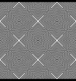seamless geometric checked pattern vector image vector image