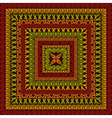 Square Ethnic Pattern vector image vector image