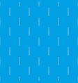 thin zip pattern seamless blue vector image