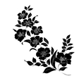 twig blossoms vector image vector image