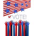 Vote conceptual vector image vector image