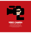 Video Camera vector image