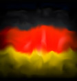 abstract flag germany background for creative vector image vector image
