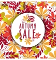 autumn banners with leaves and berries vector image