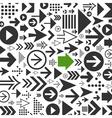 background arrows vector image vector image