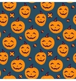 Halloween seamless patterns vector image vector image