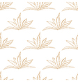 Hand drawn seamless floral pattern with flower