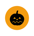 Jack-o-lantern pumpkin halloween vector image vector image