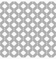 seamless pattern of striped rhombuses ethnic vector image vector image