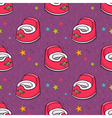 seamless pattern with baby potty vector image