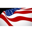 United Sates of American flag vector image vector image