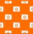 video player pattern seamless vector image vector image