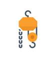 winch icon design vector image