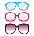 Glasses Pack vector image vector image