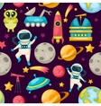 Space Background Pattern vector image vector image