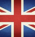 Grunge Flag Of United Kingdom vector image