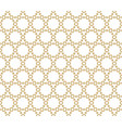 abstract golden geometric seamless pattern vector image vector image