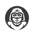 alien warrior silhouette sign