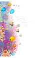 coralreef vector image