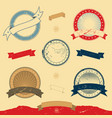 graphic banner and icons collection vector image vector image