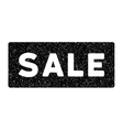 Sale Banner Grainy Texture Icon vector image vector image