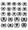 Shields and laurel wreath - collection vector | Price: 1 Credit (USD $1)