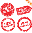 stamp stitcker new product tag collection vector image vector image