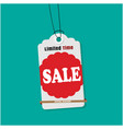 tag sale limited time sale image vector image vector image