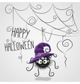 Cute spider vector image vector image