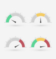 gauge set vector image