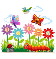 insects and addition question vector image vector image