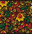 oklahoma russian ethnic ornament painting vector image