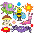 small animals collection 6 vector image vector image