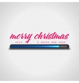 Merry Christmas Loading vector image
