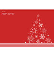 abstract of christmas simple red color background vector image vector image