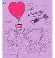Air Balloons Travel 02 A vector image