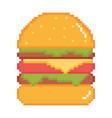 best burgers vector image vector image