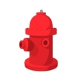 Fire hydrant cartoon icon vector image vector image