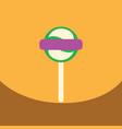 flat icon design collection bonbon candy vector image