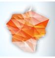 Geometric Triangular Abstract Modern vector image