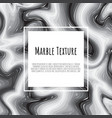 grey black white marble template trendy pattern vector image vector image