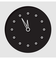 information icon - last minute clock vector image vector image