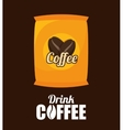sack coffee bean graphic vector image