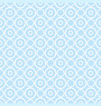 seamless pattern with white dots on a pastel blue vector image