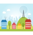 wireless signal vector image