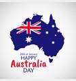 26 january happy australia day eps10 vector image vector image
