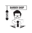 barber haircut and shave vector image